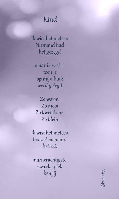Gedichtjes Esthervandaag